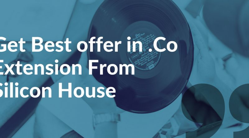 Get Best offer in .Co Extension From Silicon House